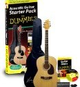 Guitar For Dummies Acoustic Guitar Starter Pack (Guitar, Book, Audio CD, Gig Bag)