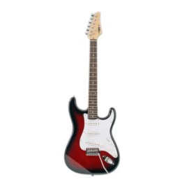Legacy Solid Body Electric Guitar, Red Burst