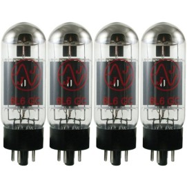 JJ Electronics T-6L6GC-JJ-MQ Vacuum Tube Beam Power AMP Matched Quad