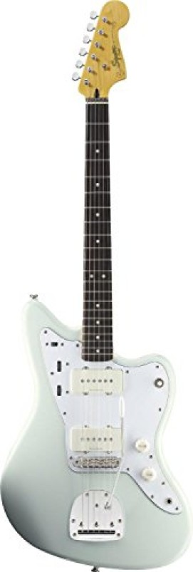 Squier by Fender Vintage Modified Jazzmaster Electric Guitar, Rosewood Fingerboard, Sonic Blue