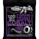 Ernie Ball 2729 7-String Cobalt Electric Guitar, Power Slinky (11 - 58)