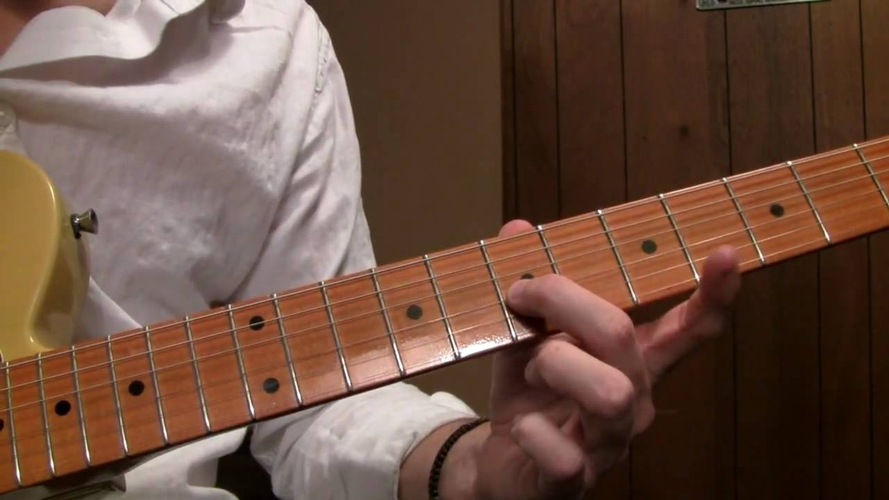 How to play Gravity by John Mayer on Electric Guitar