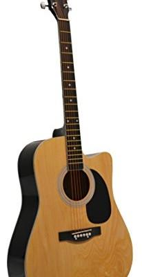 Huntington GA41C-NT 41-Inch Acoustic Cutaway Guitar, Natural
