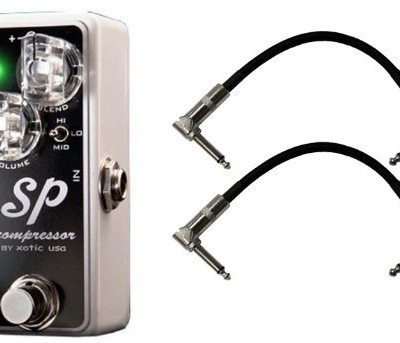 Xotic SP Compressor w/ 2 Cables