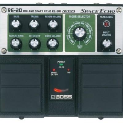 Boss RE-20 Space Echo Pedal