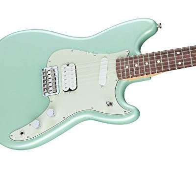 Fender Duo-Sonic HS - Surf Green, Rosewood Fingerboard