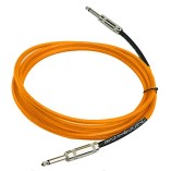 Estone 3M Guitar Cable Amplifier Amp Instrument Lead Cord 10ft Electric Orange New