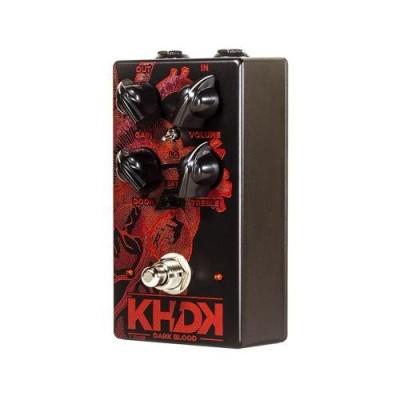 KHDK Electronics Dark Blood Distortion Guitar Effects Pedal