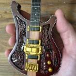 Lemmy Motörhead Miniature Bass Guitar Model