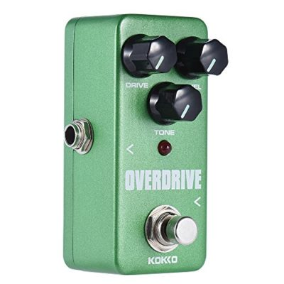 ammoon KOKKO FOD3 Mini Overdrive Pedal Portable Guitar Effect Pedal