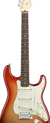 Fender American Deluxe Stratocaster, Rosewood Fretboard - Sunset Metallic